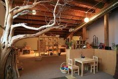 Reggio Inspired Classrooms   tree reggio classroom by colleen