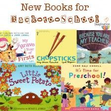 New Back to School Picture Books