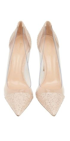 Gianvito Rossi 2015 Calabria Crystal Court Shoe