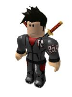 Its a  roblox character
