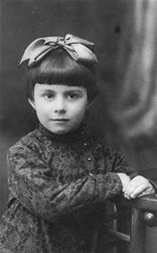 Babi Yar - 1-Portrait of three-year-old Anna Glinberg, a Jewish child who was later killed during the mass execution at Babi Yar.