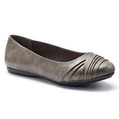 Croft & Barrow® Women's Comfort Ballet Flats, Size: