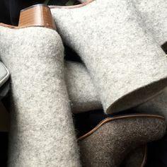 #LEV01 Felt, Wool, Shoes, Fashion, Moda, Shoes Outlet, Fashion Styles, Feltro, Shoe