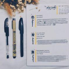 Minimalistic weekly spread in bullet journal #bulletjournal #bujo #weekly