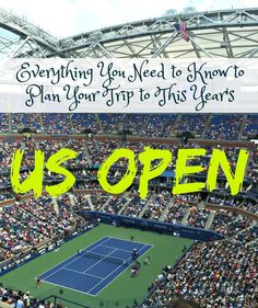 Read on about this Grand Slam tennis tournament that takes place late every summer in New York City and how you can be a part of it.: