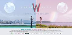 W-Two Worlds. KDrama. Oh my god. So I just watched the first episode and I'm about to watch the second. This shit is gonna be good. This may be the drama that convinces me to be a Lee Jong Suk fan...