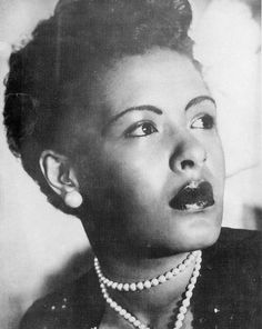 """HWC salutes Billie Holiday- Billie Holiday was an American jazz singer and songwriter. Nicknamed """"Lady Day"""" by her friend and musical partner Lester Young, Holiday had a seminal influence on jazz and pop singing. Billie Holiday, Ps I Love You, Look At You, Lady Sings The Blues, Strange Fruit, Gone Girl, Jazz Blues, Blues Music, Jazz Music"""