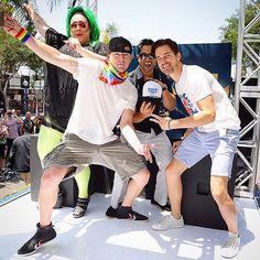 Channing Tatum Brings His Twerk A-Game to LA Gay Pride Parade with Matt Bomer http://www.people.com/article/channing-tatum-matt-bomer-gay-pride-parade