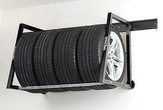Rolling Tire Storage Rack Adorable Hyloft Tire Loft Tire Storage Rack  Tire Storage  The Garage Store