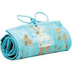 DMC StitchBow Floral Needlework Roll (travel bag), White shell