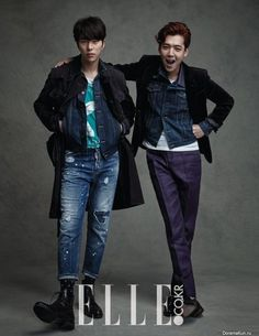 pic+of+yoon+hyun+min | Jung Kyung Ho, Kim So Yeon, Yoon Hyun Min для Elle April 2015