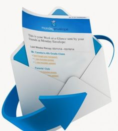 Monday Envelope Makes Life Easier For PTA Parents