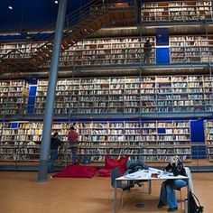 Central Library of the University of Technology, Delft, Netherlands