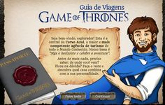 Guia de Viagens Game of Thrones