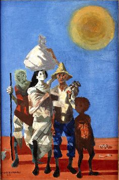 Retirantes ,1955 by Candido Portinari ( 1903 –  1962) was one of the most…