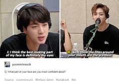 Ever the hyung pleaser. This golden maknae can't go wrong. The real reason why all the hyungs spoil him xD