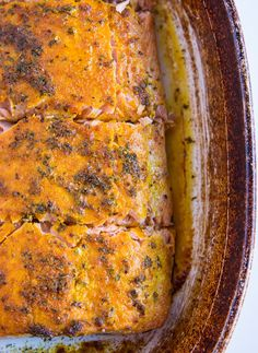 Baked Turmeric Salmon - The Roasted Root