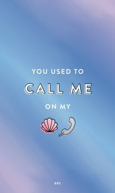 May's Mermayd Box (and Drake) gave us the perfect inspo for this mermaid phone wallpaper!