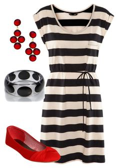 """Teacher Outfits on a Teacher's Budget 104"" by allij28 ❤ liked on Polyvore featuring H&M, Wet Seal, Boohoo and Yochi"