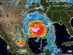 Hurricane Ike. I don't think many realise just how large a hurricane Ike was.
