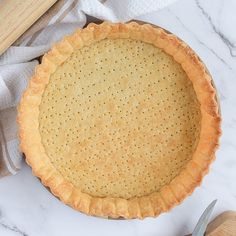 Easy Shortcrust Pastry Recipes, Savoury Pastry Recipe, Savoury Pies, Quiche Pie Crust, Quiche Pastry, Pie Crusts, Filo Pastry, Cheese Quiche, Strawberry Coulis Recipe
