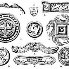 27. (H-222) - Állatalakos hun-avar korongok és ékszerek Ancient Symbols, Ancient Art, Warrior Outfit, Asatru, Viking Art, Medieval Costume, My Roots, Hungary, Archaeology