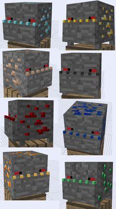 Minecraft Mob Ideas - Ore Trap by RedPanda7.deviantart.com on @deviantART