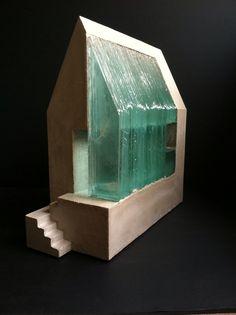 -naked- concrete & glass. Hidden Spring Designs Rob Matthews