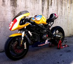 Radical Ducati S.L.: YELLOW RACER 2013 by Radical Ducati