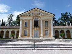Villa Barbaro(Andrea Palladio)- This building was made in 1508. The style of this building is Palldian architecture.