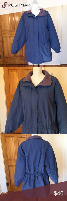 L.L. Bean warm insulated jacket 💕 I wore this last winter on several occasions but is still in good condition 👍 very warm. The inside fleece is soft and cozy. It has elastic bands that can be adjusted to make it tighter or more roomy near the waist. I'm 5'4 and it covers most of of my rear for extra warmth. L.L. Bean Jackets & Coats