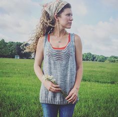 Ravelry: Country Garden Top pattern by Amanda Hester Smith