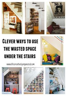 Need more storage? If you have a house, then you're in luck! Here are some clever ways to use that wasted space under the stairs. Home Crafts, Diy Home Decor, Garden Crafts, Diy Crafts, Box Room Bedroom Ideas, Old Dresser Drawers, School Snacks For Kids, Attic Storage, Entryway Storage