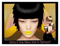 """""""NEW KID IN SCHOOL?"""" by melange-art ❤ liked on Polyvore featuring beauty"""