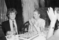Ted Kennedy Jr celebrating his 20th birthday with Princess Grace.  Who knew!