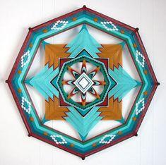 DIY Yarn Mandalas - Jay Mohler's Mandala Art is Designed to Ward Off Unwanted Spirits (GALLERY)