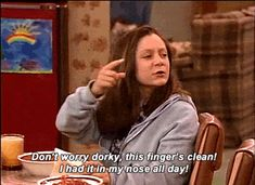 """That time she demonstrated that cleanliness is next to goddessliness. 
