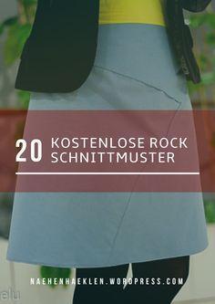 20 kostenlose Rock Schnittmuster, auch Plus Size. 20 kostenlose Rock Schnittmuster, auch Plus Size. Beginner Sewing Patterns, Plus Size Sewing Patterns, Skirt Patterns Sewing, Sewing For Beginners, Knitting Patterns, Skirt Sewing, Sewing Diy, Sewing Pants, Knitting Yarn