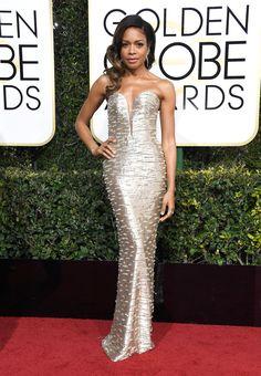 Naomie Harris Dress: Armani Privé Sarah Jessica Parker, Glamour, Celebrity Dresses, Celebrity Style, Golden Globe Awards 2017, Beautiful Dresses, Nice Dresses, Red Carpet Gowns, Tiffany Jewelry