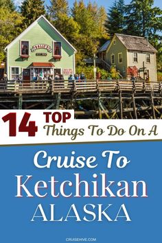 Travel tips for Ketchikan, Alaska with all the things to do when visiting during a cruise vacation. With tours and ways to enjoy the Salmon capital of the world! #ketchikanj #traveltips #cruisetips #alaska #alaskatips Top Cruise, Best Cruise, Cruise Port, Disney Cruise Line, Cruise Travel, Cruise Vacation, Cruise Excursions, Cruise Destinations, Alaska Cruise Tips