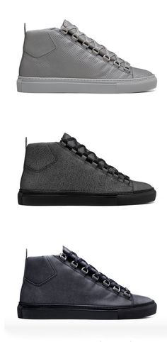 factory price 32d0a 7cc54 Balenciaga 2015 FallWinter Arena The popular high-top returns for  FallWinter