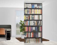 Best  Raumteiler Vorhang Book Lover xcm wohnzimmer ideen wohnen