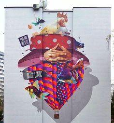 Artists @artez_online @lonacpot #sprayart #spaypaint #mural #wallart #drawing #painting #graffiti #arteurbano #streetart #graphicdesign #contemporaryart