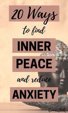 20 Ways to Find Inner Peace and Reduce Anxiety The thing about anxiety is that there's a lack of inner peace. When we feel peaceful and calm, it weakens anxiety. In this article you will learn 20 different ways to find inner peace and reduce anxiety. Anxiety Causes, Anxiety Tips, Anxiety Help, Stress And Anxiety, Health Anxiety, Anxiety Quotes, Anti Stress, Natural Remedies For Anxiety, Natural Cold Remedies