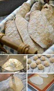 Výborný zdravý nekvašený chléb