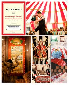 Big Top Wedding Inspiration Board