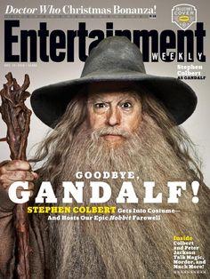 Stephen Colbert as Gandalf