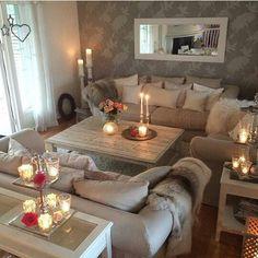 So Ein Gemütliches Wohnzimmer! Mehr