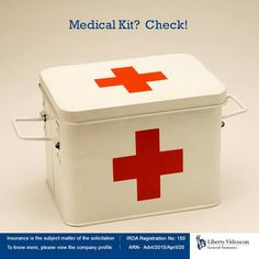 Medical kit in a car is a sign of a preemptive driver. You never know when you might need to patch up scrapes and scratches. #ForgetMeNot