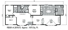 Sequoia floor plans.  A 3 bed / 2 bath modular home available at Homesbyvanderbuilt.com.